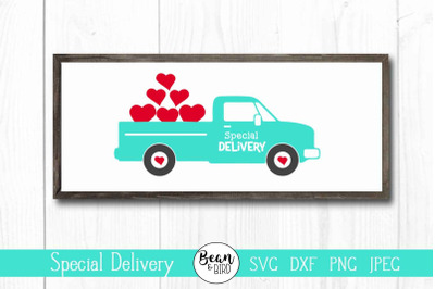 Special Delivery Valentines SVG