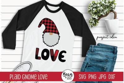 Gnome Love Valentines SVG