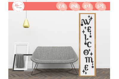 Porch Sign - Welcome SVG