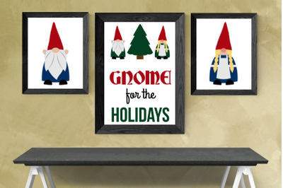 Gnomes | SVG | PNG | DXF