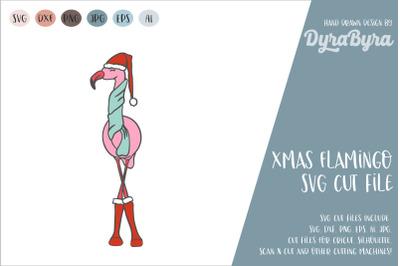 FLAMNGO XMAS SVG / CHRISTMAS SVG