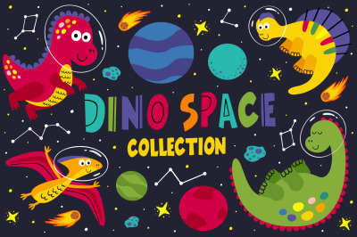 dinosaurs space collection