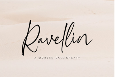 Ravellin - A Modern Calligraphy