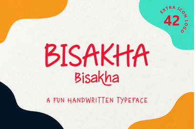 Bisakha - Fun Handwritten Typeface