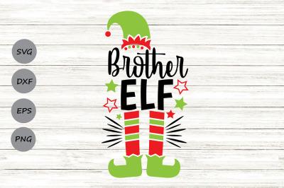 Brother Elf Svg, Christmas Svg, Elf Svg, Brother Svg, Elf Hat Svg.
