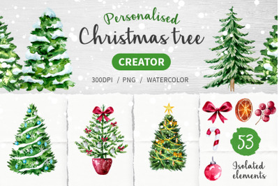 Christmas tree creator
