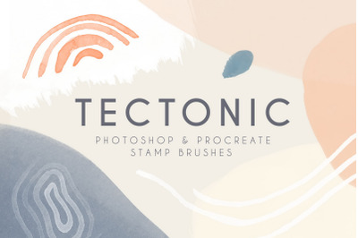 Tectonic - Photoshop & Procreate Brushes