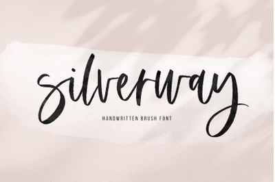 Silverway - A Chic Handwritten Script Font