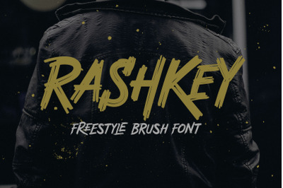 Rashkey Freestyle Brush Font