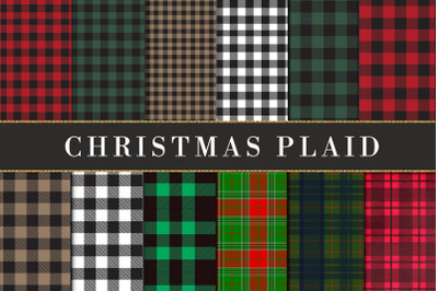 Buffalo plaid Christmas