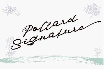 Pollard Signature Font