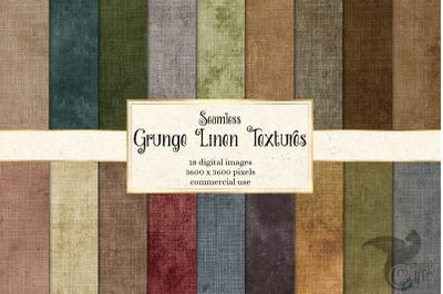 Grunge Linen Digital Paper