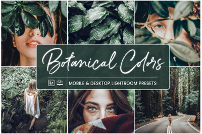 Botanical Colors - Mobile & Desktop Presets