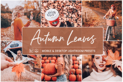 Autumn Leaves -  Mobile & Desktop Lightroom Presets