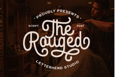 The Rouged - Display Script Font
