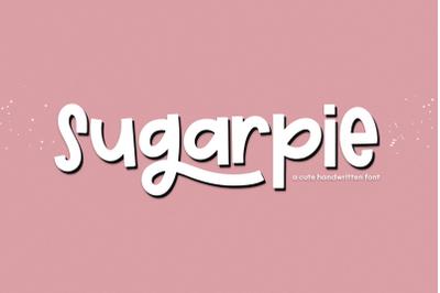 Sugarpie - A Cute & Quirky Handwritten Font