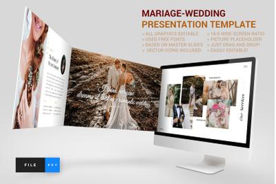 Mariage - Wedding Keynote Template