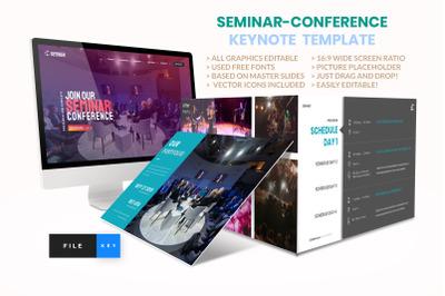 Seminar - Conference Keynote Template