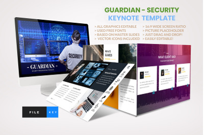 Guardian - Security keynote template