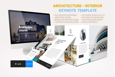 Architecture - Interior keynote Template