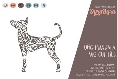 Dog Mandala SVG / Dog SVG / Zentangle SVG / Boho SVG