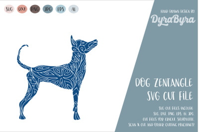 Dog SVG / Mandala SVG / Zentangle / Boho SVG