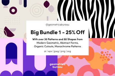Geometrica Bureau - Big Bundle Vol 1