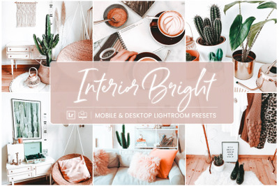 Interior Bright - Mobile & Desktop Lightroom Presets