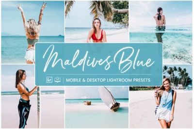 Maldives Blue -  Mobile & Desktop Lightroom Presets