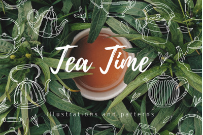 Tea Time | illustrations and pattern