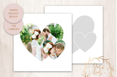 PSD Photo Collage Template #4