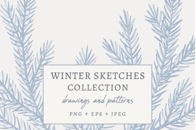 Winter Sketches Collection