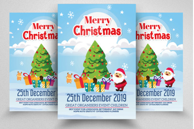 Happy Christmas Flyer/ Poster