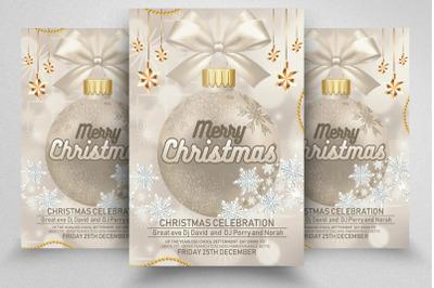 Christmas Greeting Flyer