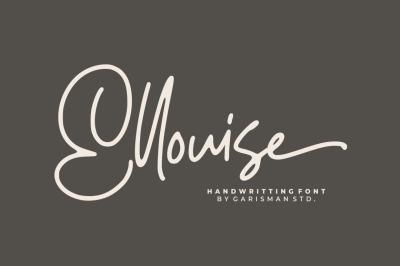 Ellouise - Handwritten Font