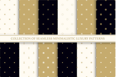 Vector seamless minimal patterns