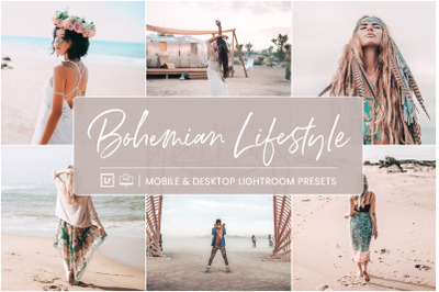 Bohemian Lifestyle -  Mobile & Desktop Lightroom Presets