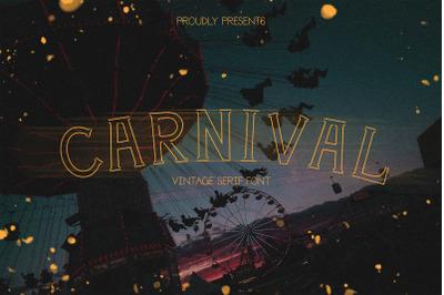 Carnival | a vintage serif
