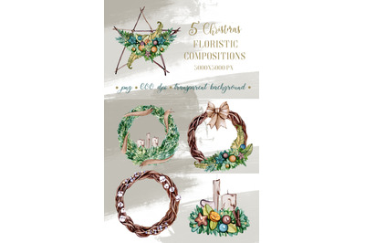 CHRISTMAS FLORISTIC mini