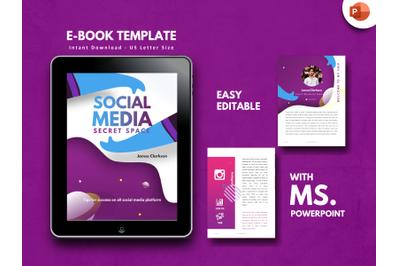 Social Media Secret Marketing PowerPoint Presentation Template