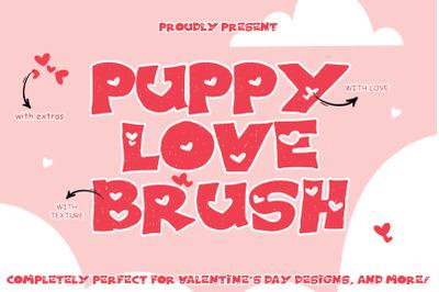 PUPPY LOVE BRUSH