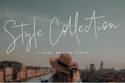 Style Collection - A hand written script