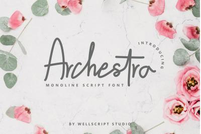 Archestra - Handwritten Script
