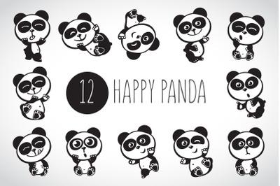 Happy panda eps