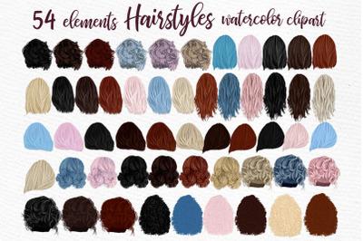 Hairstyles clipart, Girls Hairstyles,Custom Girls Hairstyle