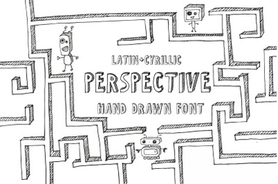 Perspective Font