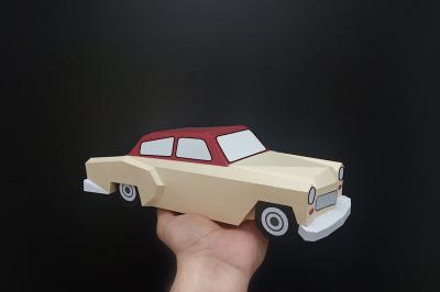 DIY Chevy Car - 3d papercraft