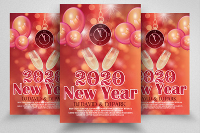 Happy New Year Flyer / Poster
