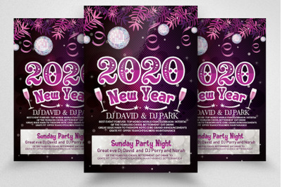 Happy New Year Party Flyer / Poster