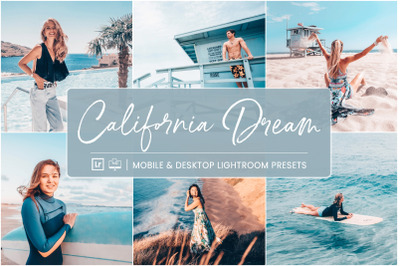 California Dream -  Mobile & Desktop Lightroom Presets